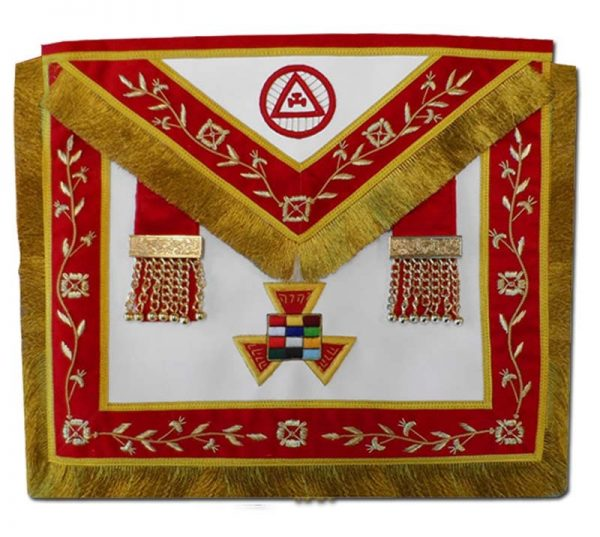 PHP Past High Priest EMBROIDERED Apron Masonic Royal Arch Mark Master Collar