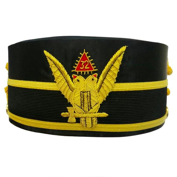SCOTTISH RITE 32 ND DEGREE SASH HAND EMBROIDERED DOWN WINGS-AAP